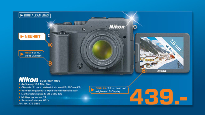 Nikon COOLPIX P7800 © Saturn