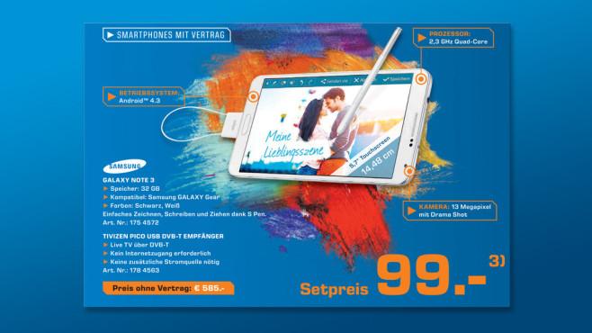Samsung Galaxy Note 3 32GB ©Saturn