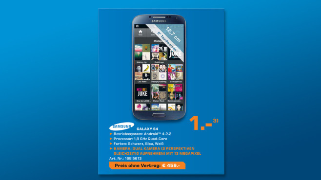 Samsung Galaxy S4 16GB ©Saturn
