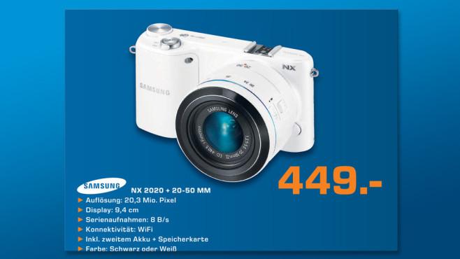 Samsung NX2000 Kit 20-50 mm ©Saturn