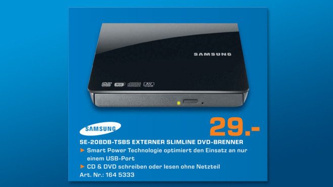 Samsung SE-208DB ©Saturn