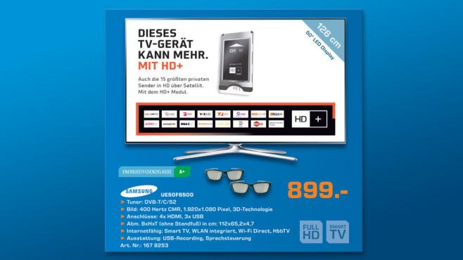 Samsung UE50F6500 ©Saturn