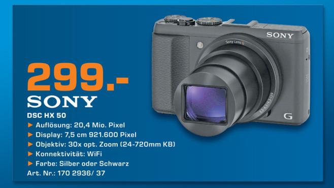 Sony Cyber-shot DSC-HX50 ©Saturn