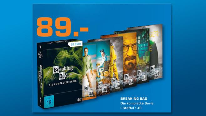 TV-Serie auf DVD ©Saturn