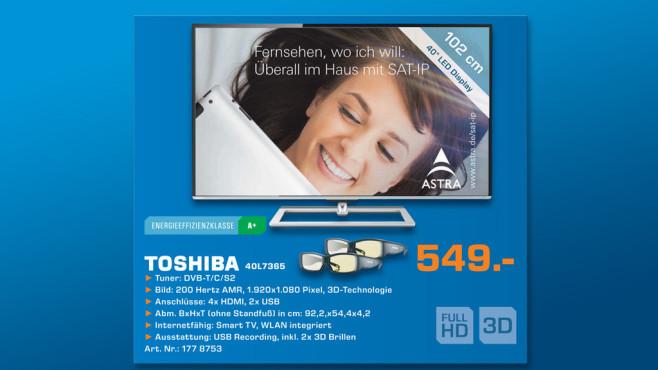Toshiba 40L7386 ©Saturn