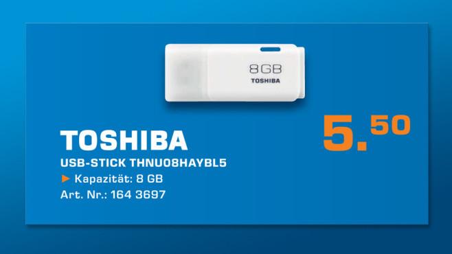 Toshiba USB 2.0 Stick (THNU08HAYBL5) ©Saturn