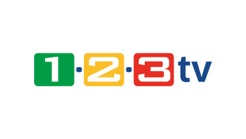 Frei empfangbar: 1-2-3.tv HD ©1-2-3 TV