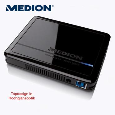 Externe Festplatte: Medion P82759 (MD 90206), erhältlich bei Aldi Nord ©Aldi Nord