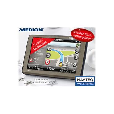 Navigationssystem: Medion GoPal E5470, erhältlich bei Aldi Süd ©Aldi Süd
