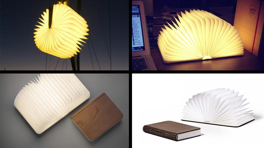das etwas andere nachtlicht lumio die leselampe im buchformat computer bild. Black Bedroom Furniture Sets. Home Design Ideas