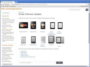 Kindle- und Fire-Software-Updates