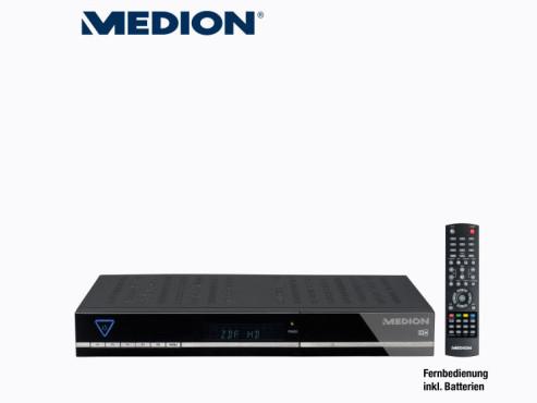 Digitaler Sat-Receiver: Medion Life P24027 (MD 28019), erhältlich bei Aldi Nord ©Aldi Nord