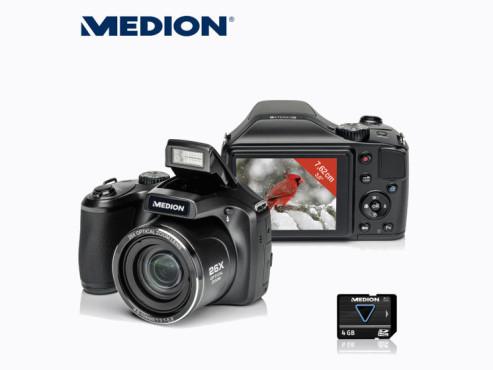 Digitalkamera: Medion Life X44026 (MD 86826), erhältlich bei Aldi Nord ©Aldi Nord