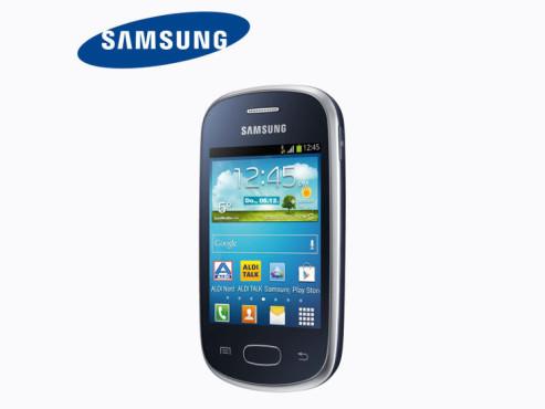 Smartphone: Samsung Galaxy Star, erhältlich bei Aldi Nord ©Aldi Nord, Samsung