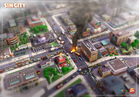Sim City © Electronic Arts