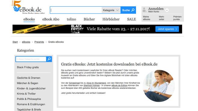 Screenshot eBook.de ©Hugendubel Digital GmbH & Co. KG