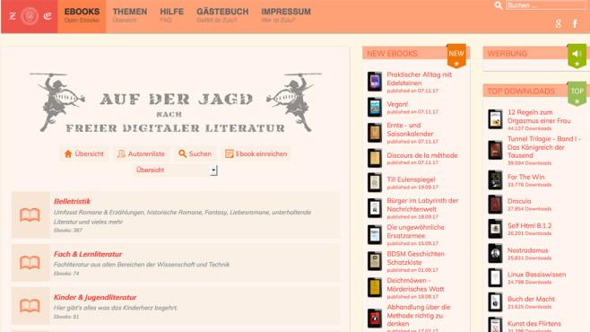 Screenshot zulu-ebooks.com ©Zulu eBooks