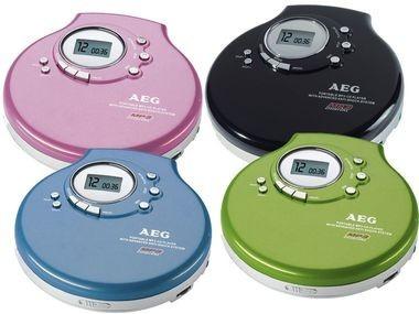 AEG MP3 Discman AEG CDP 4212 ©Lidl