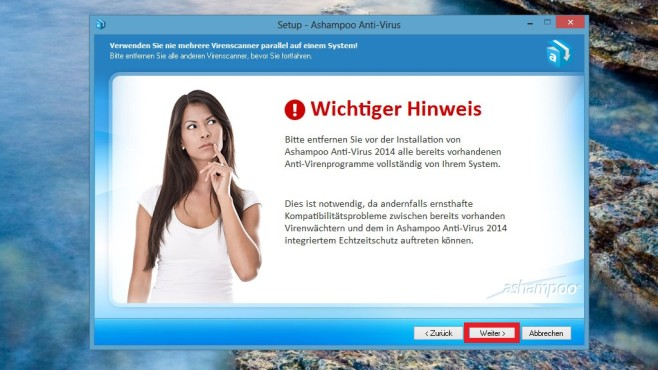 Ashampoo Anti-Virus installieren: So funktioniert es © COMPUTER BILD