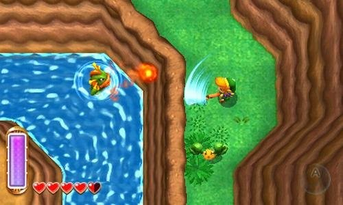 Actionspiel The Legend of Zelda – A Link Between Worlds © Nintendo