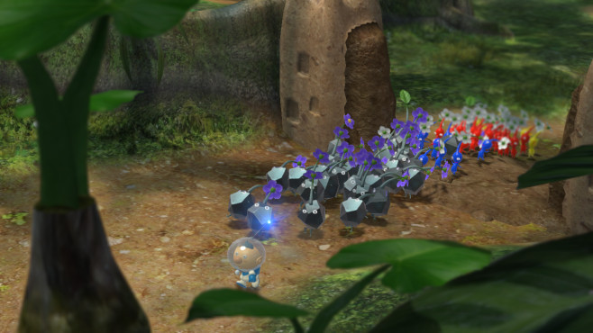Strategiespiel Pikmin 3 © Nintendo