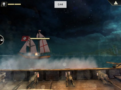 Assassin's Creed — Piraten: Touch-Steuerung © Ubisoft