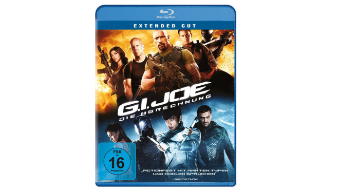 G.I. Joe: Die Abrechnung (Extended Cut) [Blu-ray] © Amazon