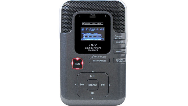 Pronomic HR2 Portabler MP3/Wave-Recorder © Amazon