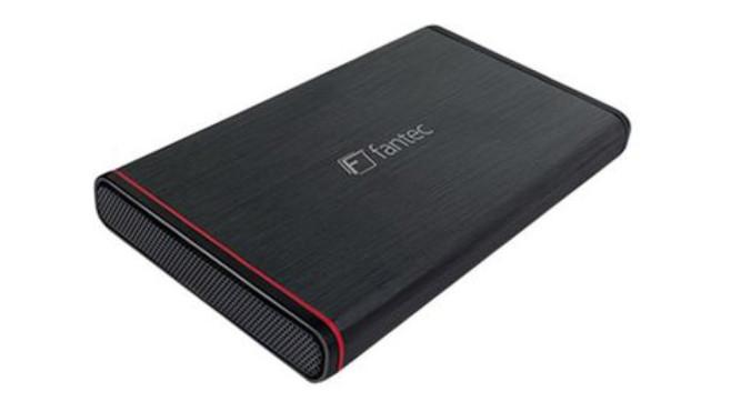 """Fantec 2,5"""" SATA USB 3.0 Festplattengehäuse ©Fantec"""