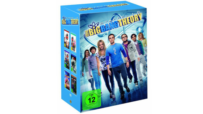 The Big Bang Theory - Staffel 1-6 (19 Discs) © Amazon