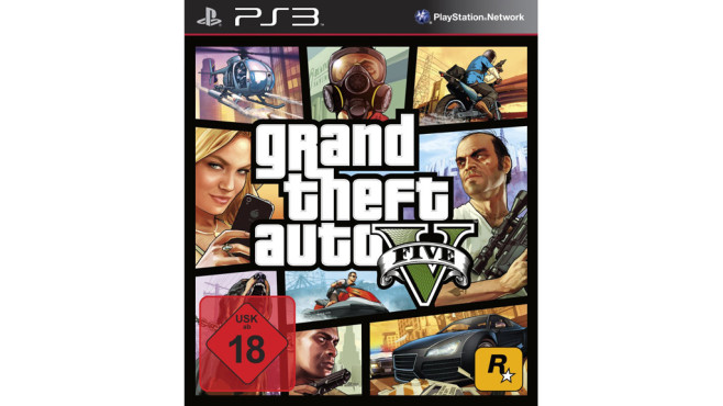 Grand Theft Auto V für Playstation 3 © Amazon