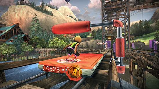 Microsoft Kinect mit Kinect Adventures ©Microsoft