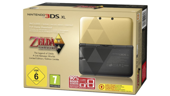 Nintendo 3DS XL – Zelda-Bundle © Nintendo