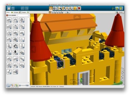 Lego Digital Designer ©The LEGO Group
