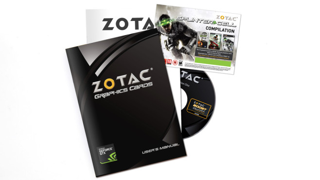 Zotac Geforce GTX 780 Ti AMP! Edition © Zotac