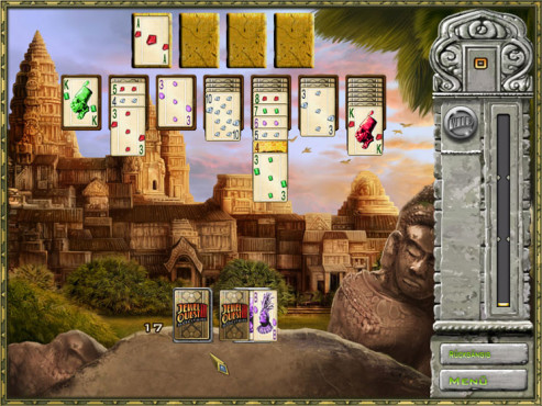 Jewel Quest Solitaire 3 © Intenium