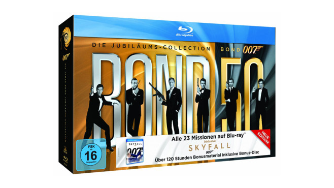James Bond 007 - Die Jubiläums-Kollektion © Amazon