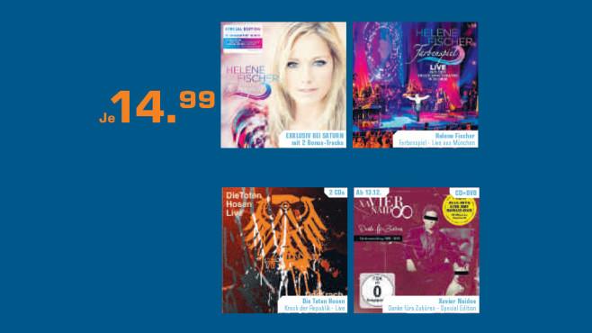 Aktuelle CD-Neuheiten ©Saturn