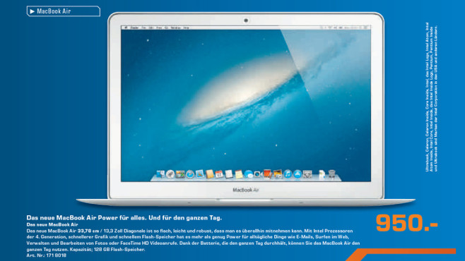 Apple MacBook Air © Saturn