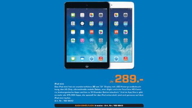 Apple iPad mini ©Saturn