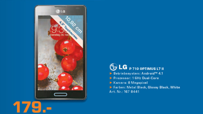 LG P710 Optimus L7 II © Saturn
