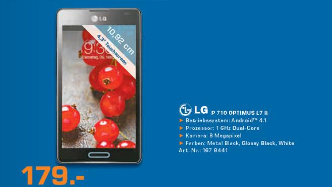 LG P710 Optimus L7 II ©Saturn