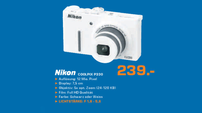 Nikon Coolpix P330 © Saturn