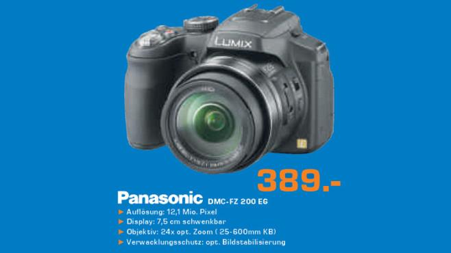 Panasonic DMC-FZ 200 EG ©Saturn