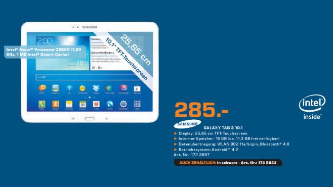 Samsung Galaxy Tab 3 10.1 ©Saturn