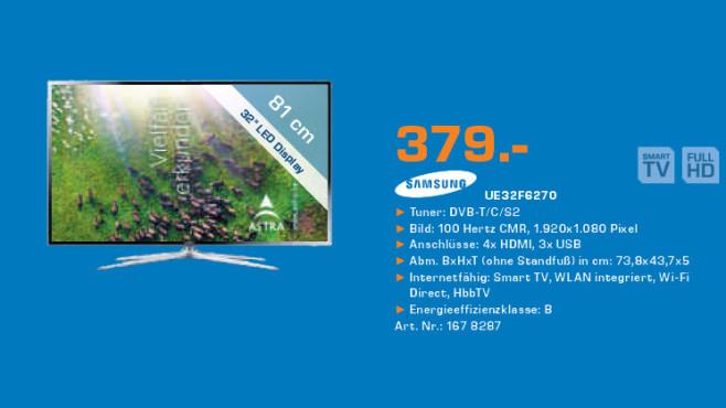 Samsung UE32F6270 ©Saturn