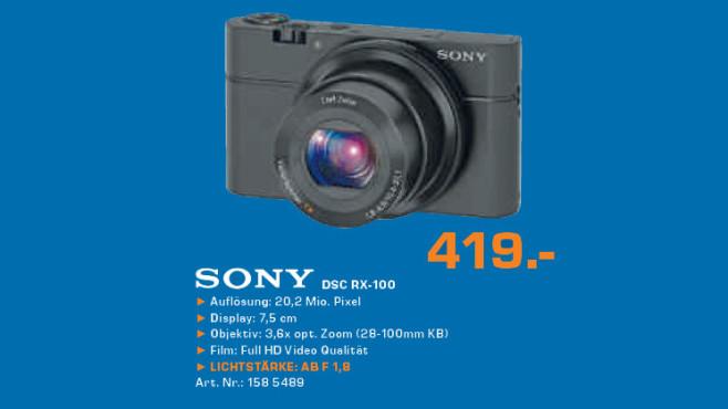 Sony DSC RX-100 ©Saturn