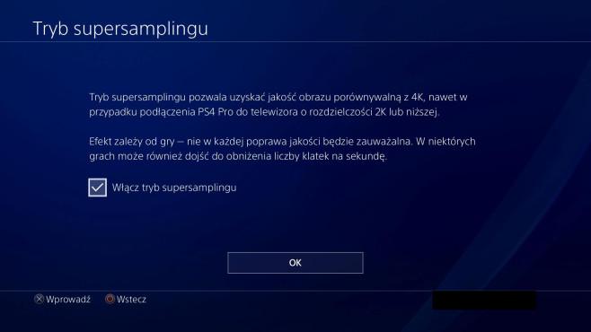PS4 Pro –Supersampling ©wccftech.com