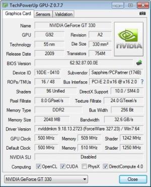 GPU-Z: Infos zur Grafikkarte ©COMPUTER BILD
