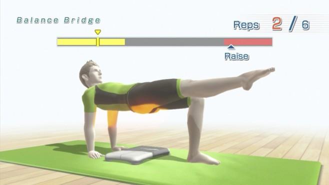 Wii Fit U:Muskel�bungen ©Nintendo